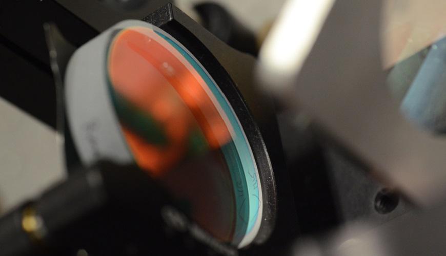 Formation les composants optiques pour laser