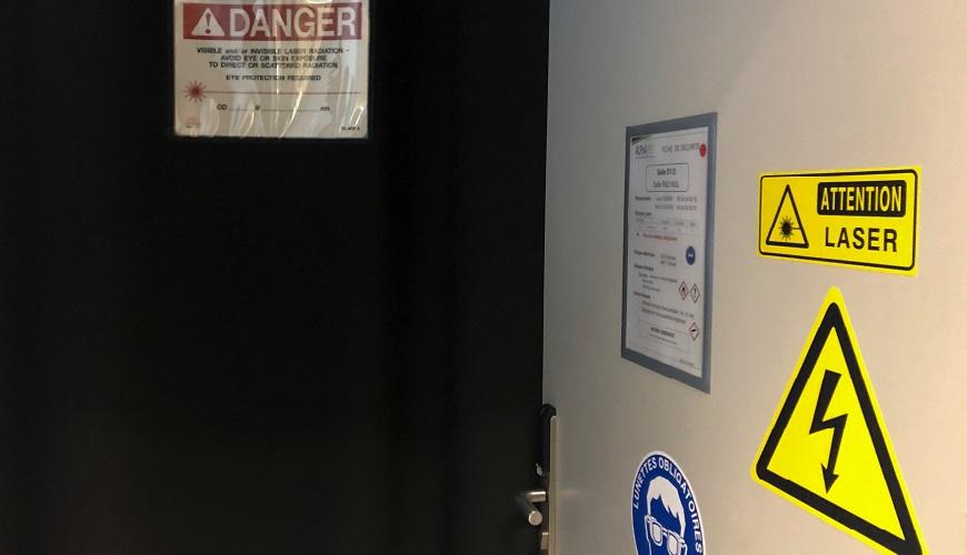 sécurité optique et sécurité laser recyclage personne exposée aux risques laser