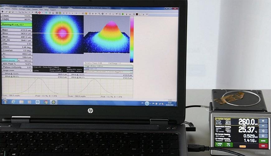 formation métrologie des faisceaux laser